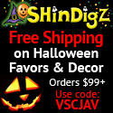 FREE Shipping on Halloween party orders $85+
