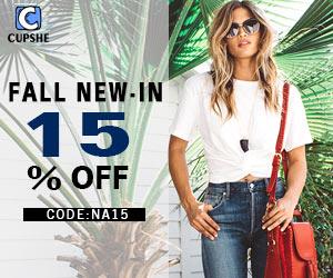 Fall New-In!15% OFF Code:NA15!