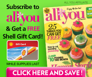Get a FREE $6 Shell Gas Card with All You!