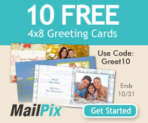 Get 10 Free Christmas Cards