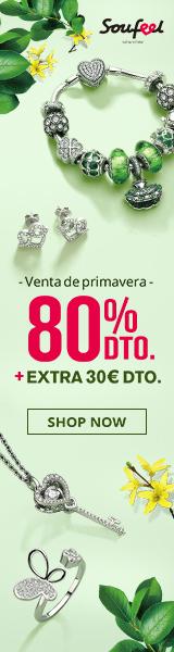 Spring Fresh Sale hasta 80% de descuento + $ 30 adicionales en Soufeel.es