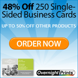 100 Affordable, High Quality Business Cards!