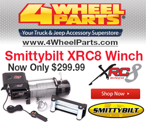 XRC8 winch from  Smittybilt now only $299.99