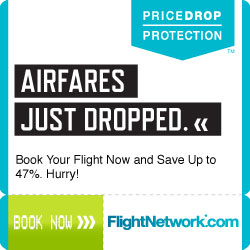 airfare just dropped by FlightNetwork.com