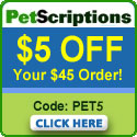 Discount prices on pet meds!