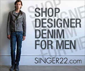 Shop Designer Denim for Men at SINGER22.com