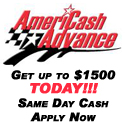 AmeriCash Advance - Up to $1500 today