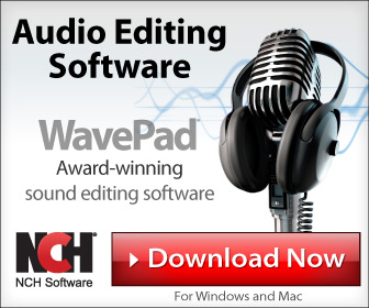 Image for WavePad Audio Editor - Mic - Large Rectangle