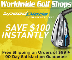 Save $100 on TaylorMade Speed Blade - Shop Worldwide Golf