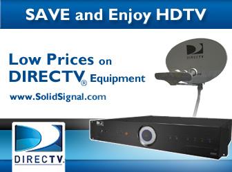 Save on DIRECTV Equipment