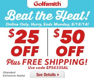 Golfsmith Beat the Heat Sale