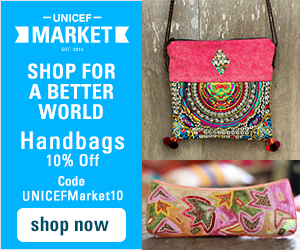 Shop Now at UNICEF Market for Handbags and Gifts that Give Back.