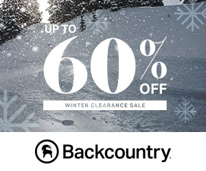 Up to 60% Off – Winter Clearance Sale at Backcountry.com