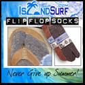 Buy Flip Flop Socks @ IslandSurf.com