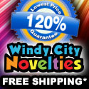 120% Low Price Guarantee Plus Free Shipping Patyu Decorations and Supplies Windy City Novelties