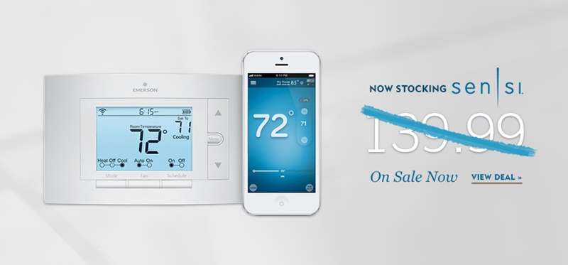 NEP Sensi wifi thermostat