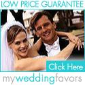 Low price guarantee at MyWeddingFavors.com