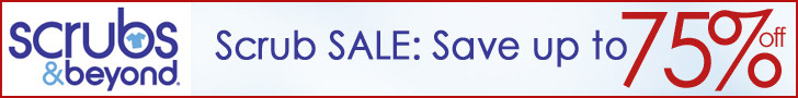 Save up to 75% on brand name scrubs at Scrubs & Be
