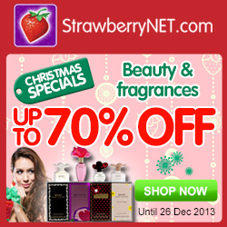 StrawberryNet Daily Christmas Specials!  Up to 70% Off!