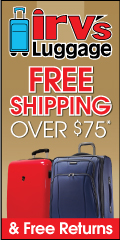 Irv's Luggage Sitewide Clearance up to 70% OFF