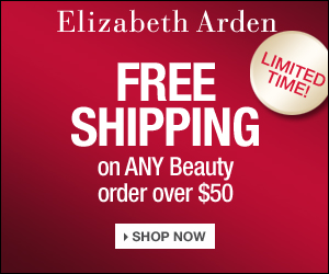Sitewide Free Shipping from Elizabeth Arden on any