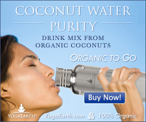 organic coconut water drink mix