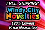 120% Low Price Guarantee Plus Free Shipping Party Decorations and Supplies Windy City Novelties