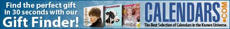 Calendars.com Holiday Gift Finder
