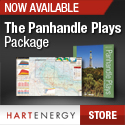 Texas Panhandle Shale Map