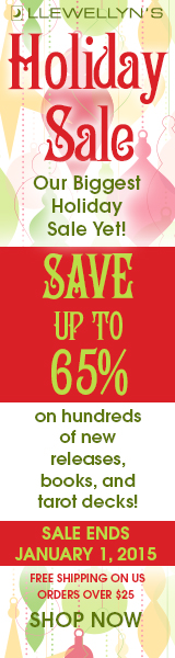 Save up to 65% during Llewellyn's Holiday Sale!