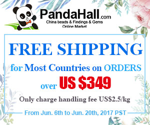 Free Shipping for Most Countries on Orders over $349. Ends on Jun. 20th, 2017 PST