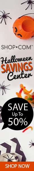 Up to 50% Off Halloween at Halloween Savings Center at SHOP.COM