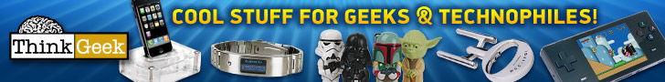 ThinkGeek - Cool Stuff for Geeks and Technophiles