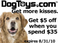 Save Now at DogToys.com