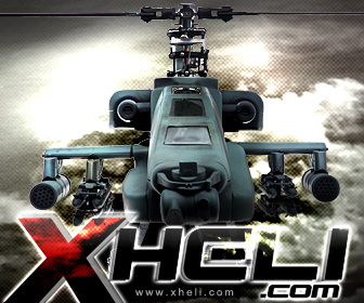 Advanced Fixed Pitch R/C Helicopter.