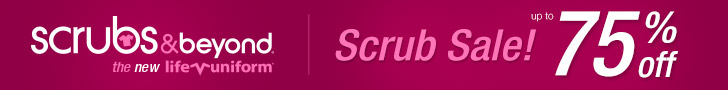 Scrubs up to 75% off!