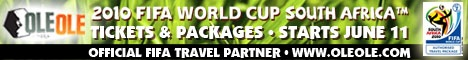 Travel to the 2010 World Cup in South Africa