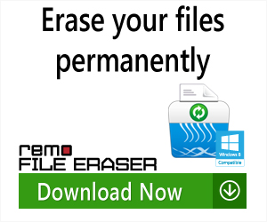 Remo File Eraser - Erase Your Files Permanently