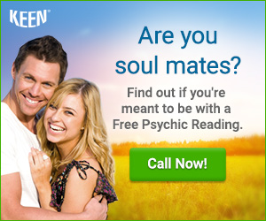 Will you ever find true love? Call 1-800-355-9142 to start a Psychic Reading. Get 3 minutes FREE!
