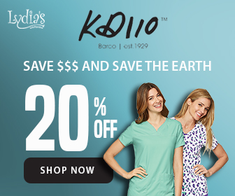 20% Off KD110 Scrubs by Barco @Lydia's