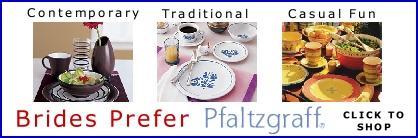 Brides Prefer Pfaltzgraff