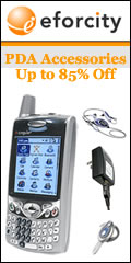 PDA Accessories up to 85% off