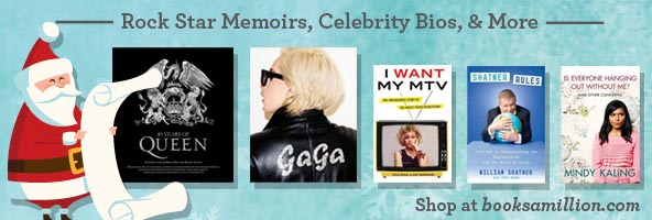 Rock Star Memoirs, Celebrity Bios, & More