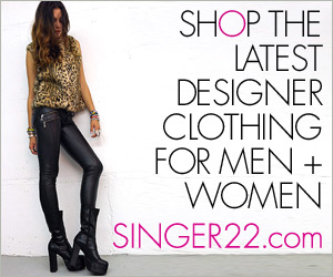 Shop Latest Designer Clothing at SINGER22
