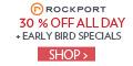 Save 30% on Black Friday at Rockport.com!