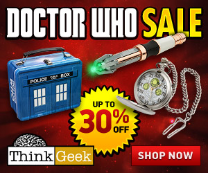 Doctor Who Sale 30% Off