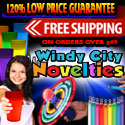 Party Supplies 120% Low Price Guarantee plus Free Shipping on order over $49 at Windy City Novelties