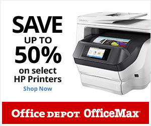 Save Up to 50% on Select HP Laser Printers!