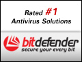 BitDefender rated #1 Antivirus Solutions