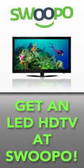 Get LED HDTVs at Swoopo!